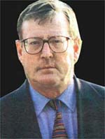 Former  First Minister and UUP leader, David Trimble.
